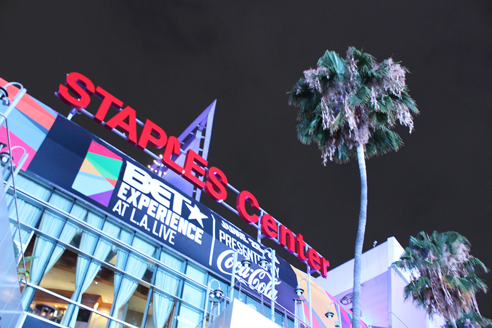 car service to staples center