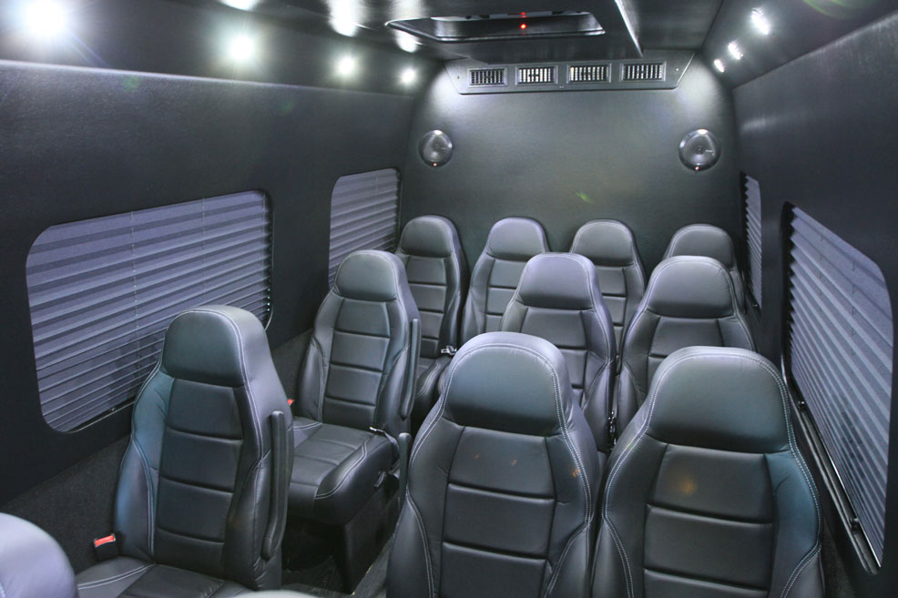 ... Mercedes Sprinter Interior Room ...