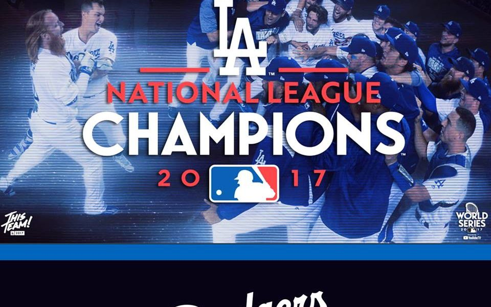 Go Blue! Congrats to the Dodgers
