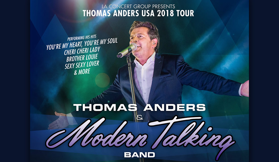 Thomas Anders and Modern Talking Band at Starlight Bowl