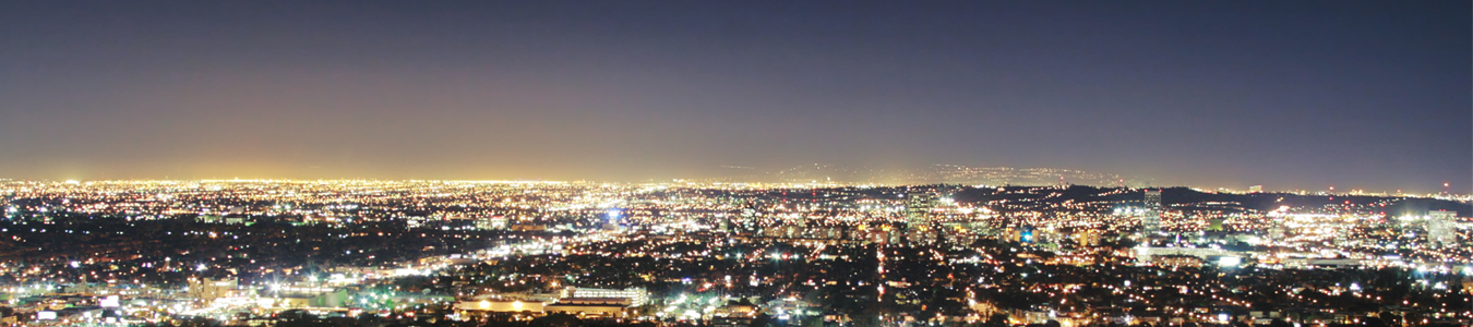 Los Angeles night sky