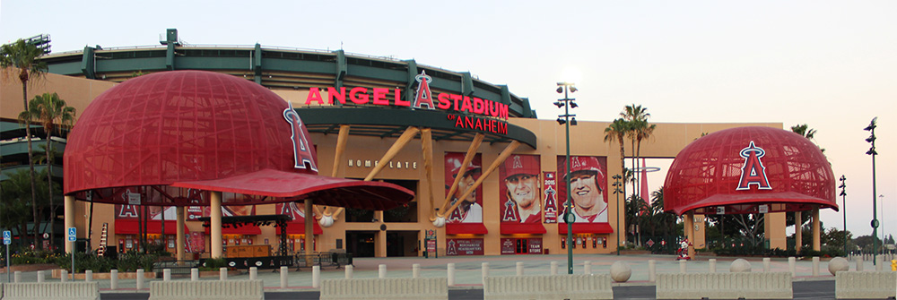 car service to angels stadium
