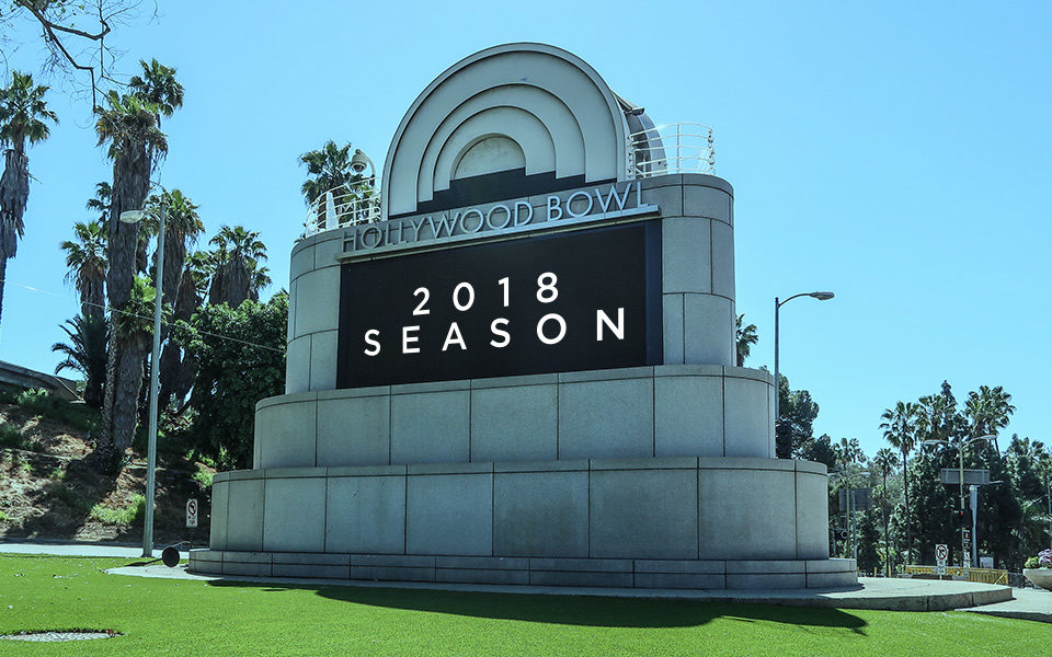 Hollywood Bowl 2018 Season: Summer Convenience with LA Private Car Service
